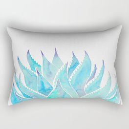 Blue Agave Rectangular Pillow