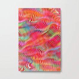 Abstract Pattern XXII Metal Print