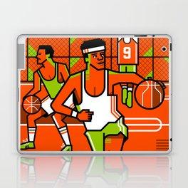 80s basketball Laptop & iPad Skin