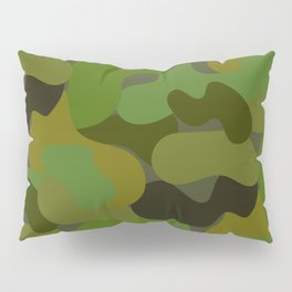 Camo-licious Collection: Gorgeous Green Camouflage Pattern Pillow Sham