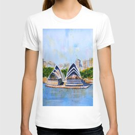 Colorful Sydney Harbor T-shirt