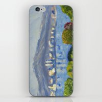 monet iPhone & iPod Skins featuring Monet Study by Paige Melinis