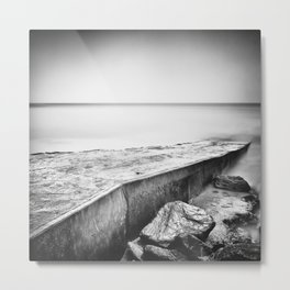 Slip away Metal Print