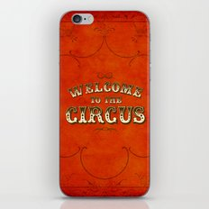 Welcome to the Circus / Dark iPhone & iPod Skin