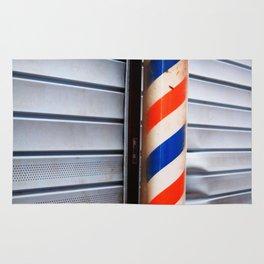Vintage Barber Pole Rug