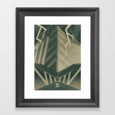 The Concrete Jungle Framed Art Print