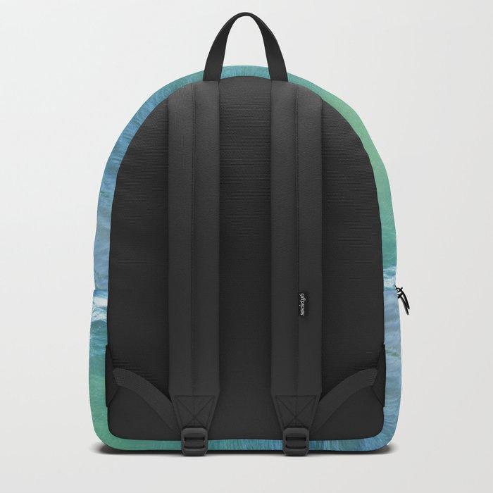 Teal Surf Backpack