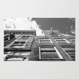 Dutch architecture in Amsterdam Rug