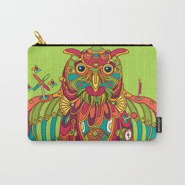 Owl, cool art from the AlphaPod Collection Carry-All Pouch