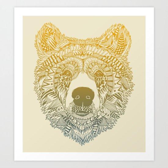 Bear (Savage) Art Print