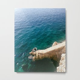 Stairs to the Sea Metal Print