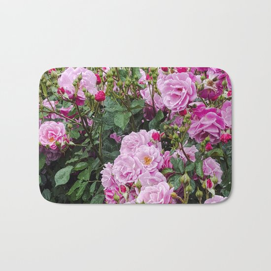 Beauties of the Garden Bath Mat