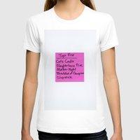 vonnegut T-shirts featuring TOP FIVE Kurt Vonnegut Novels by Jeremiah Wilson