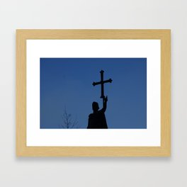 King Pelayo Framed Art Print