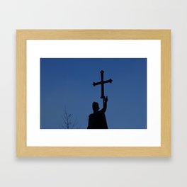 King Pelayo Framed Art Print