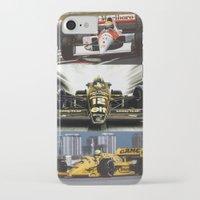 senna iPhone & iPod Cases featuring Senna by Rassva