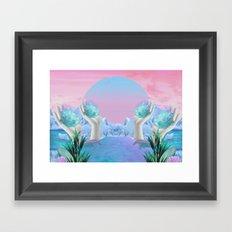 Eden Gates Framed Art Print