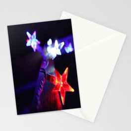 Stars of Fourth of July Stationery Cards