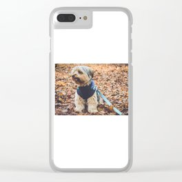 Kingsley Clear iPhone Case
