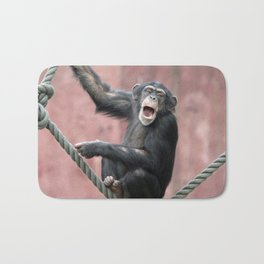 Chimpanzee_001_by_JAMFoto Bath Mat