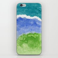 salt water iPhone & iPod Skins featuring Salt Water by Beth Thompson