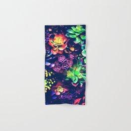 Colorful Plants Hand & Bath Towel
