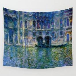 Claude Monet Palazzo da Mula, Venice Wall Tapestry