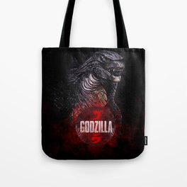 Godzilla II Tote Bag