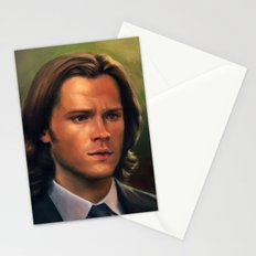 Sam Winchester from Supernatural Stationery Cards