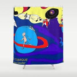 Suite Cosmique by Louis Sauter         Art by Lipton Shower Curtain
