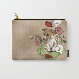 Puppy Posie Carry-All Pouch