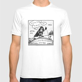 Descartes - The Little Philosopher Who Was T-shirt