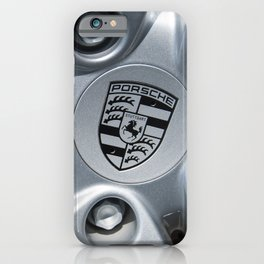 Porsche Wheel iPhone Case