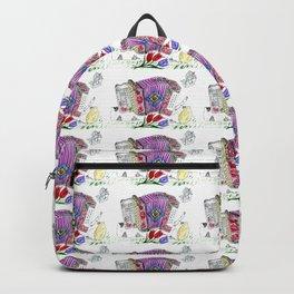 Decorative accordion Backpack