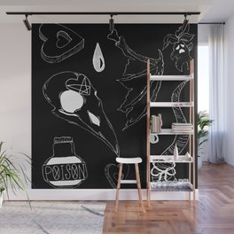 witches' basics negatives Wall Mural