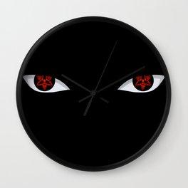 Eyes of the Avenger Wall Clock