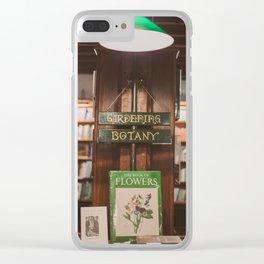 Bookstore magic corner Clear iPhone Case