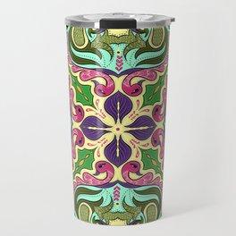 Ethnic Curlsley patterns-3 Travel Mug