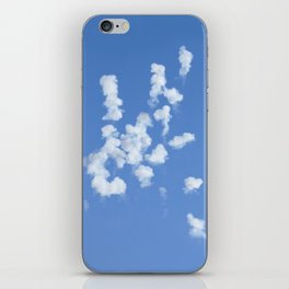 Explotijo (When the clouds make boom!) iPhone Skin