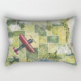 Soaring High Above Rectangular Pillow