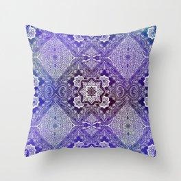 the big blue of 4 diamonds Throw Pillow