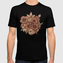 Poppies and Lilies T-shirt