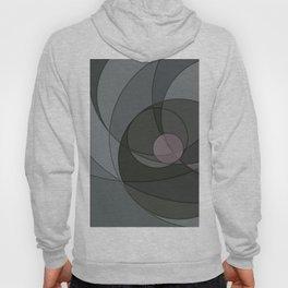Grey Spiral Sunset Hoody