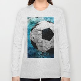 Soccer print variant 2 Long Sleeve T-shirt