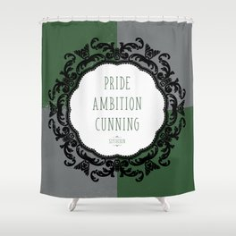 Slytherin Pride Shower Curtain