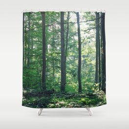 into the woods 12 Shower Curtain