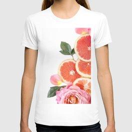 Grapefruit & Roses 04 T-shirt