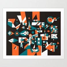 Schema 1 Art Print