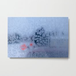 Cold Outside Metal Print