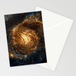 Starry Galaxy Night Stationery Cards